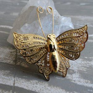 3 for $20 Gold Butterfly Pin Brooch